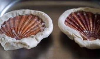 Noix de Saint-Jacques cuites en coquilles - Etape 11