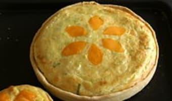 Tarte poireaux mimolette - Etape 12