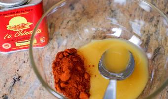 Brochettes de gambas au miel - Etape 3