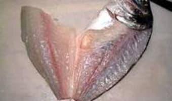 Filets de daurade - Etape 2