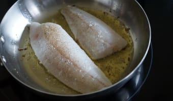 Filets de turbot sautés - Etape 4