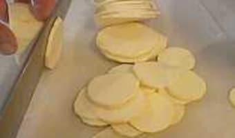 Tailles des pommes de terre - Etape 6