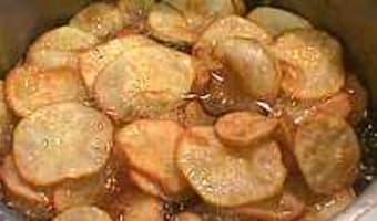 Frites et chips de patate douce - Etape 8