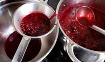 Gelée et sirop de groseilles et cassis - Etape 4