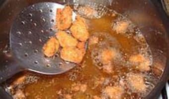 Moules et huitres frites - Etape 10