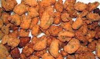 Moules et huitres frites - Etape 11