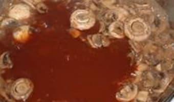 Rognons de veau au Madère - Etape 8
