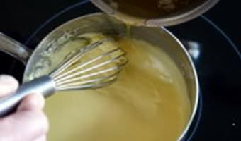 Sauce hollandaise - Etape 7