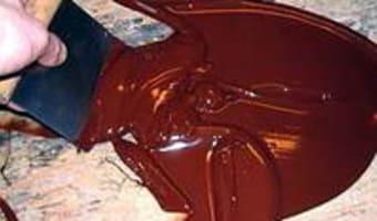 Tabler le chocolat au marbre - Etape 8