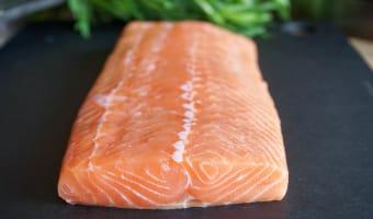 Tartare de saumon - Etape 1