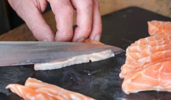 Tartare de saumon - Etape 3