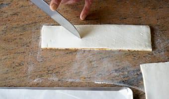 Allumettes aux anchois - Etape 11