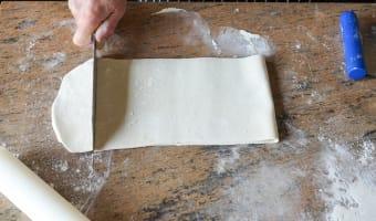 Allumettes aux anchois - Etape 2