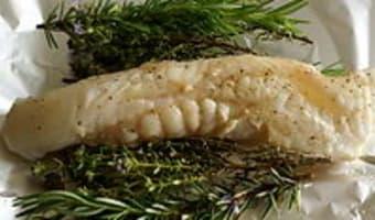 Filets de lotte rôtis aux herbes - Etape 5