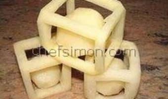 Tailles des pommes de terre - Etape 3