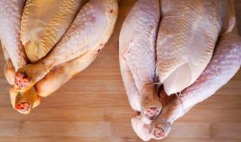 Le poulet fumé - Etape 1