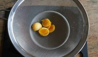 Sauce tartare - Etape 1