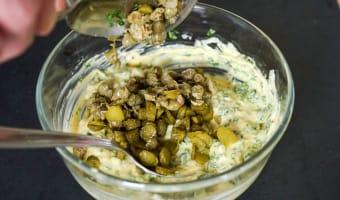 Sauce gribiche - Etape 10