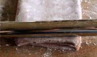 Feuilletage au chocolat : le tourage - Etape 11