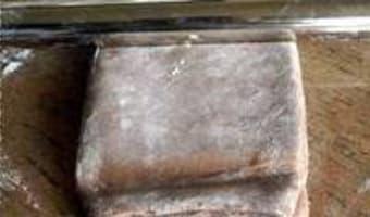 Feuilletage au chocolat : le tourage - Etape 12