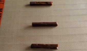 Tuiles au carambar - Etape 1