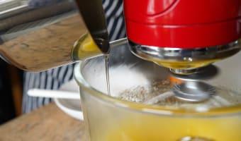 Bûche de noël glacée à la mandarine - Etape 4