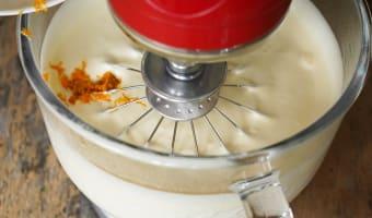 Bûche de noël glacée à la mandarine - Etape 5
