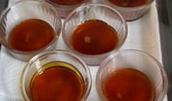 Chemiser un moule au caramel - Etape 4