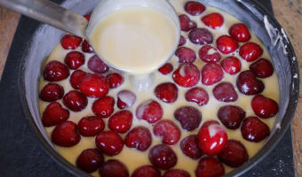 Clafoutis aux cerises - Etape 10