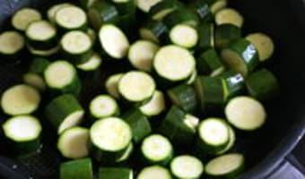 Clafoutis de courgettes - Etape 6