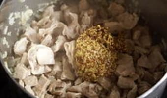 Petit ragoût de lapin à la moutarde ancienne - Etape 5