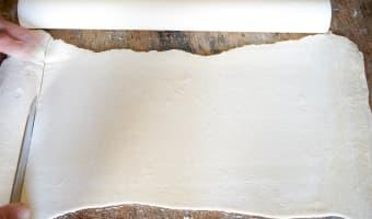Galette des rois poire noisette et chocolat - Etape 3
