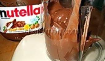 Glace au Nutella - Etape 2