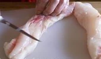 Tournedos de lotte au jambon cru - Etape 2