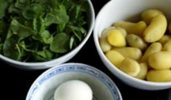 Salade cressonnière - Etape 4