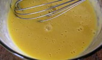 Clafoutis aux abricots et au chocolat - Etape 4