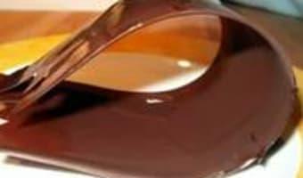 Rubans en chocolat - Etape 8