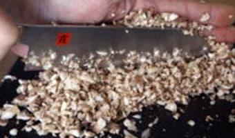 Duxelles de champignons - Etape 5