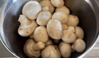 Nettoyer les champignons - Etape 8