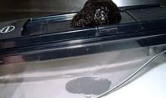 Omelette aux truffes - Etape 2