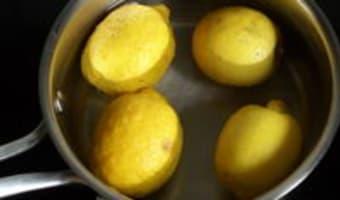 Pâte de citrons confits - Etape 1