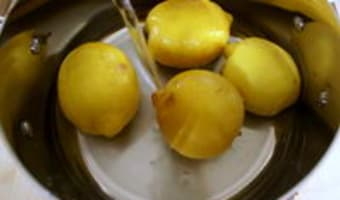 Pâte de citrons confits - Etape 5