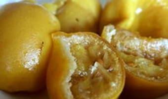 Pâte de citrons confits - Etape 8
