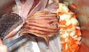 Soupe de poisson et sa rouille classique - Etape 2