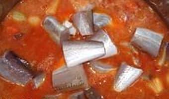 Soupe de poisson et sa rouille classique - Etape 5