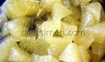 Suprêmes d'agrumes - Etape 10