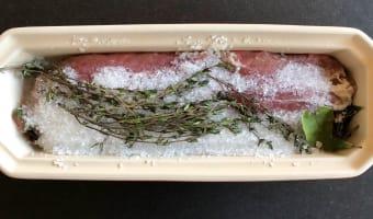 Bacon de filet mignon fumé - Etape 2