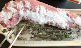 Bacon de filet mignon fumé - Etape 1