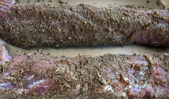 Bacon de filet mignon fumé - Etape 7