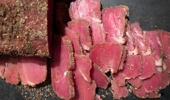 Bacon de filet mignon fumé - Etape 12